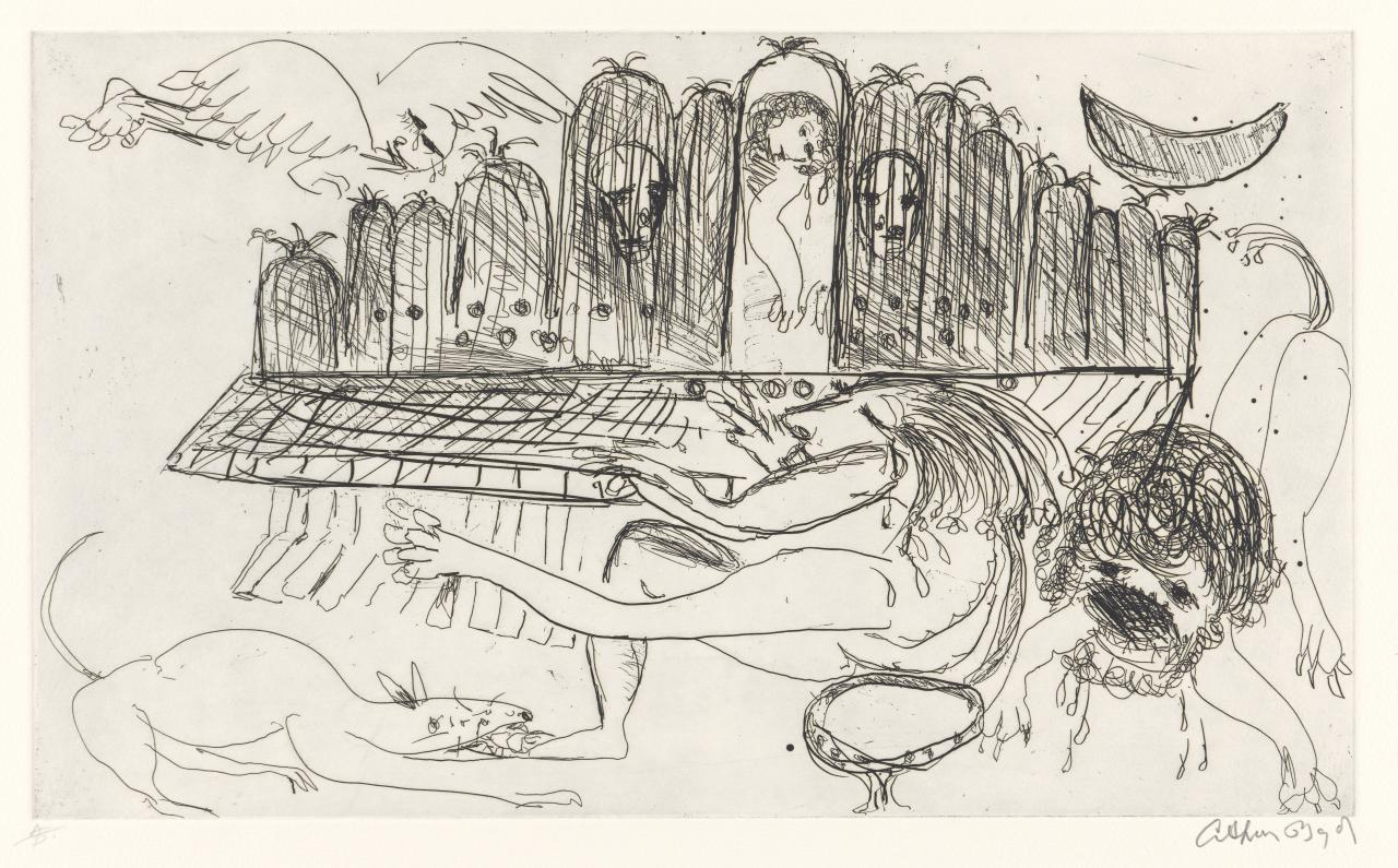 Untitled (Man playing the organ)
