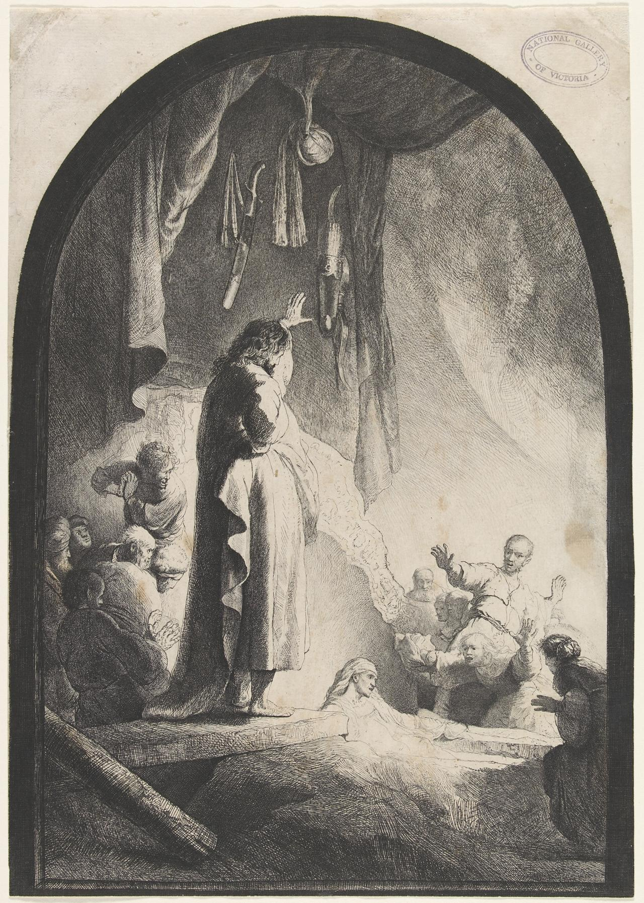 The Raising Of Lazarus: The Lager Plate