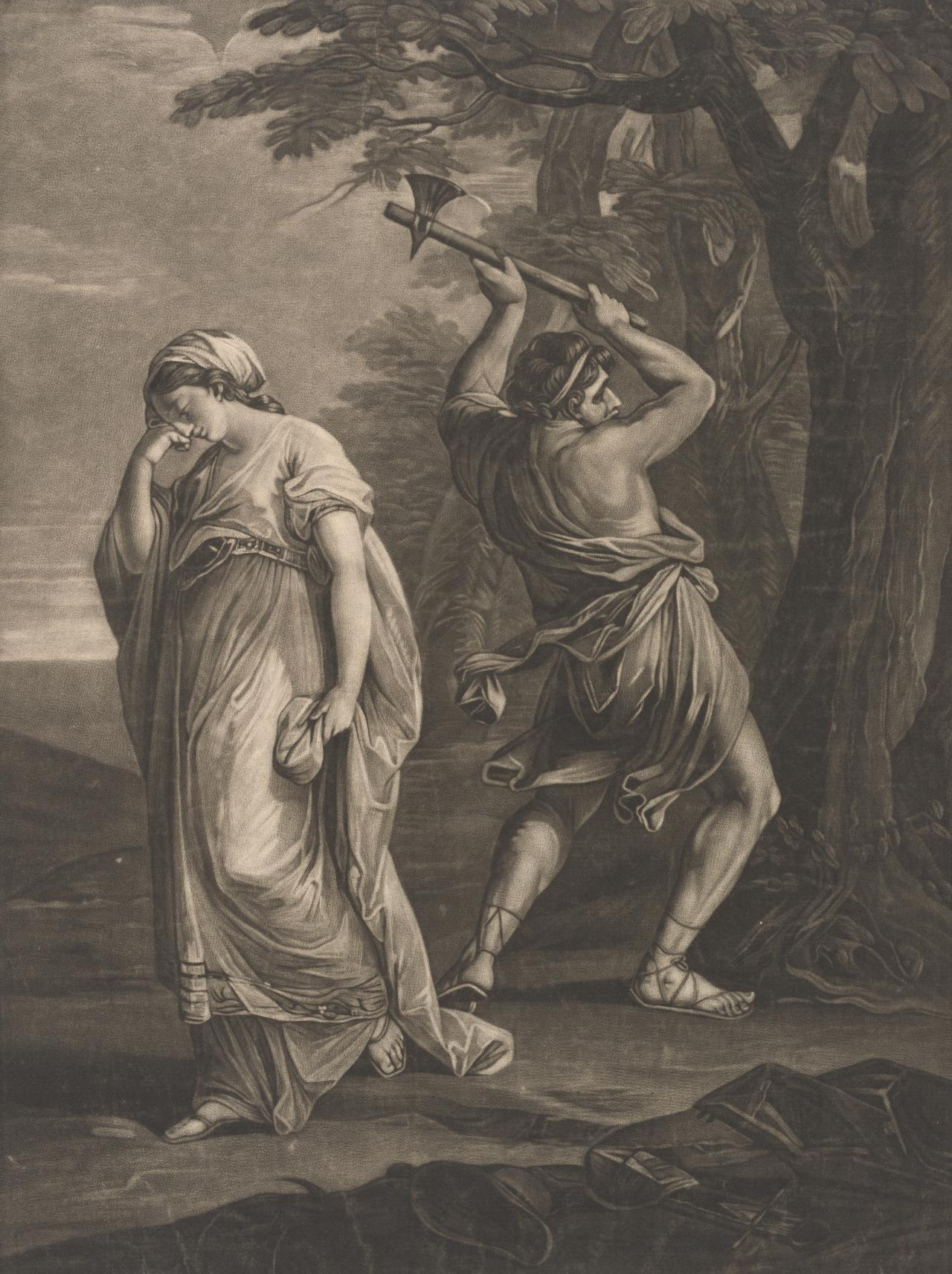 Ulysses conducted by Calypas to the forrest