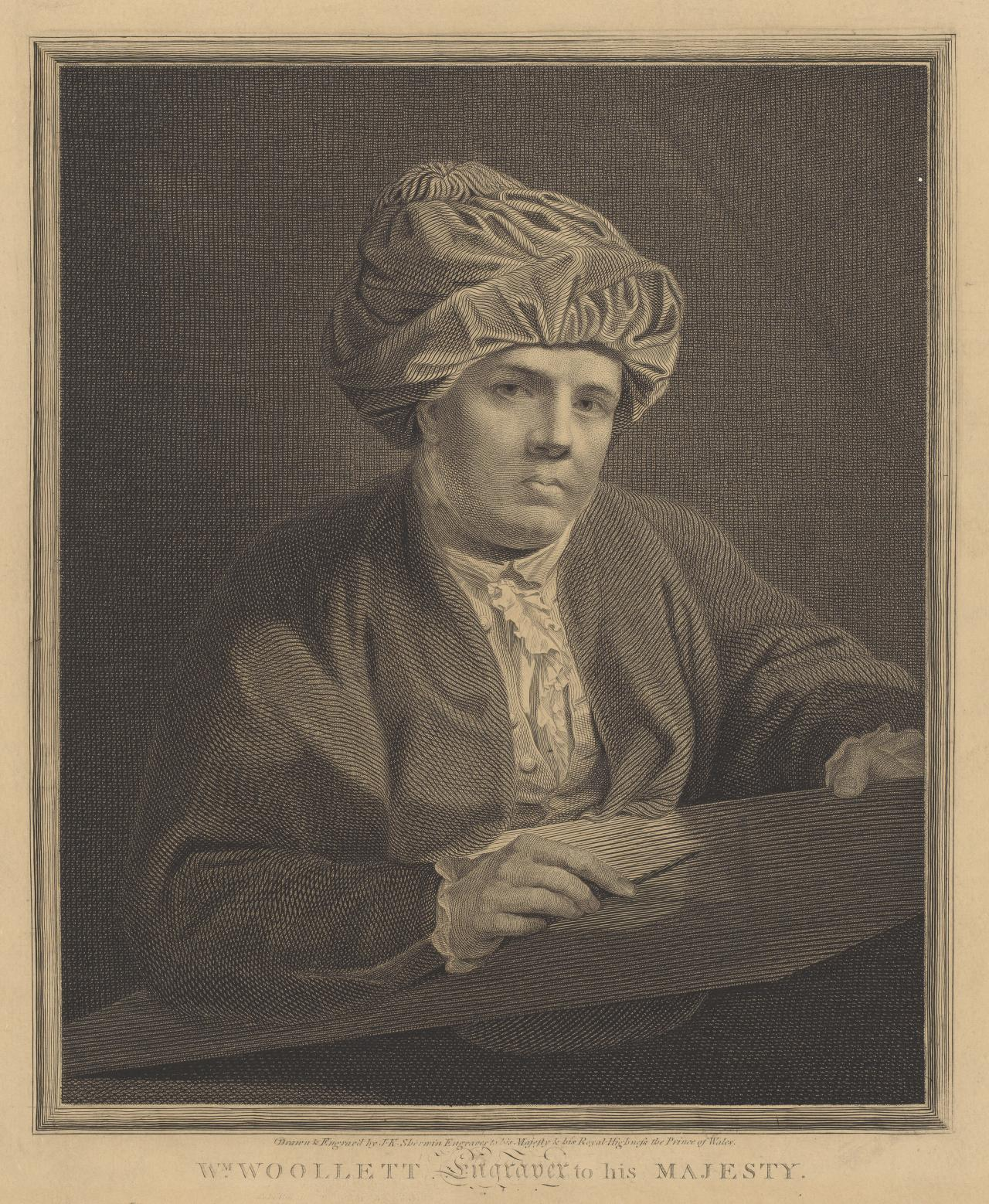 William Woollett, Engraver to His Majesty