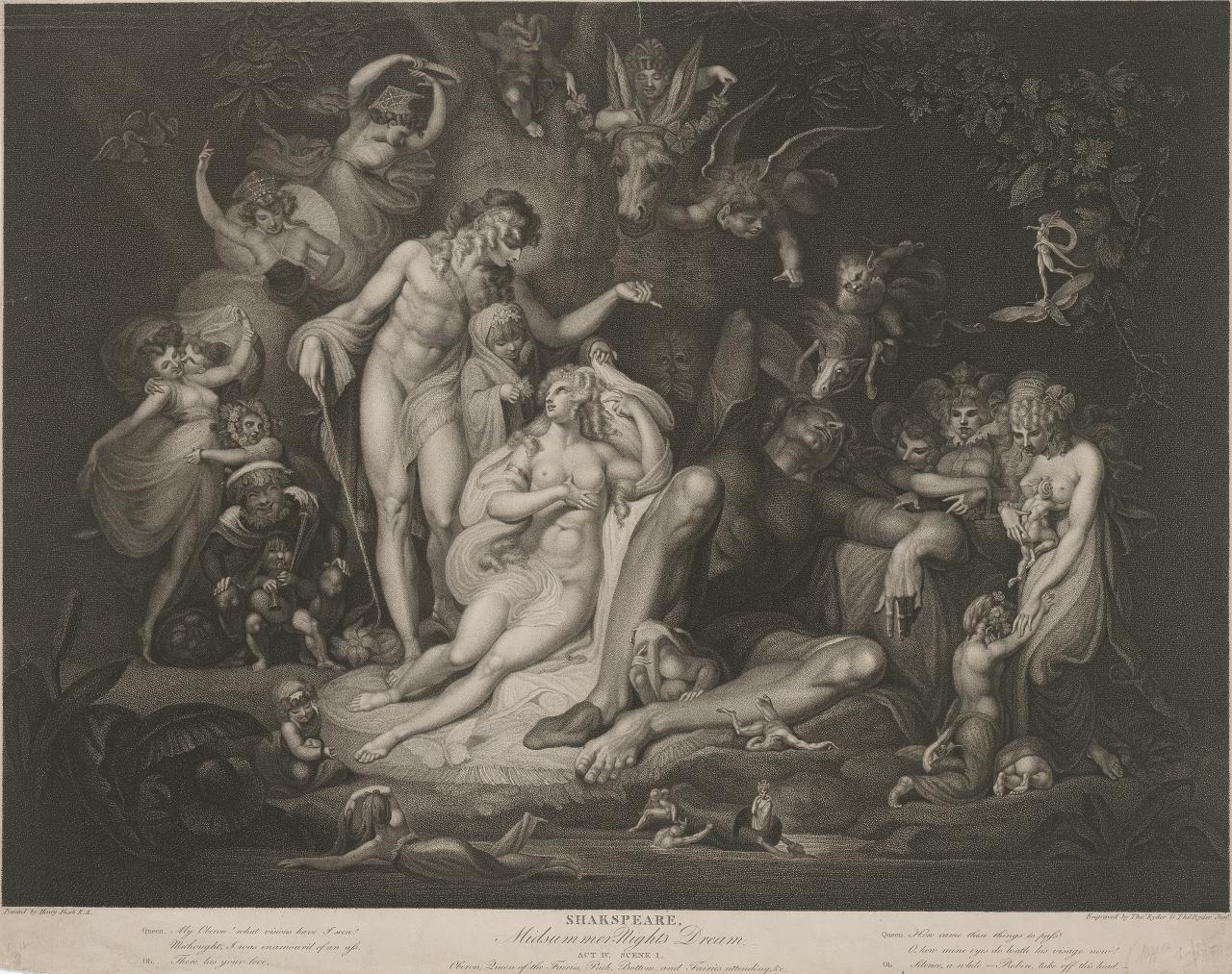 Midsummer Night's Dream: Act IV, scene 1