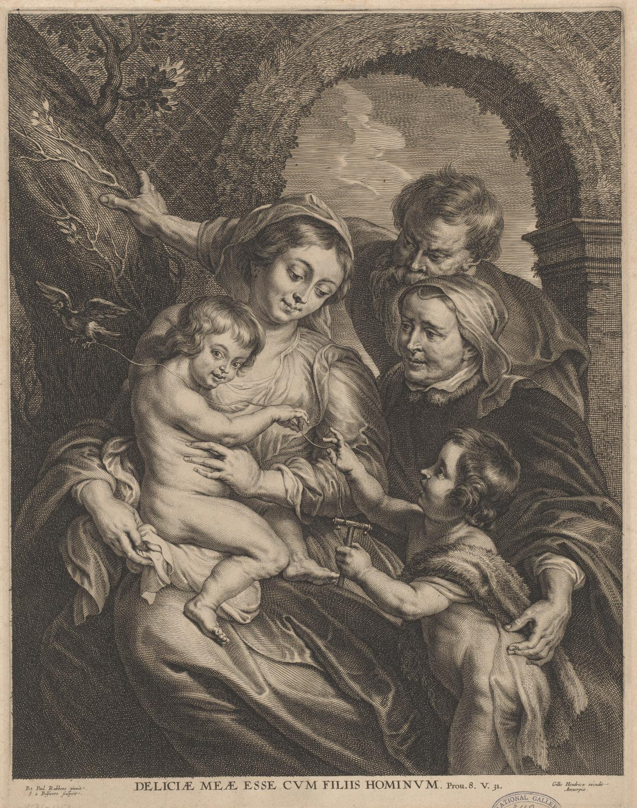 The Holy Family with the Goldfinch