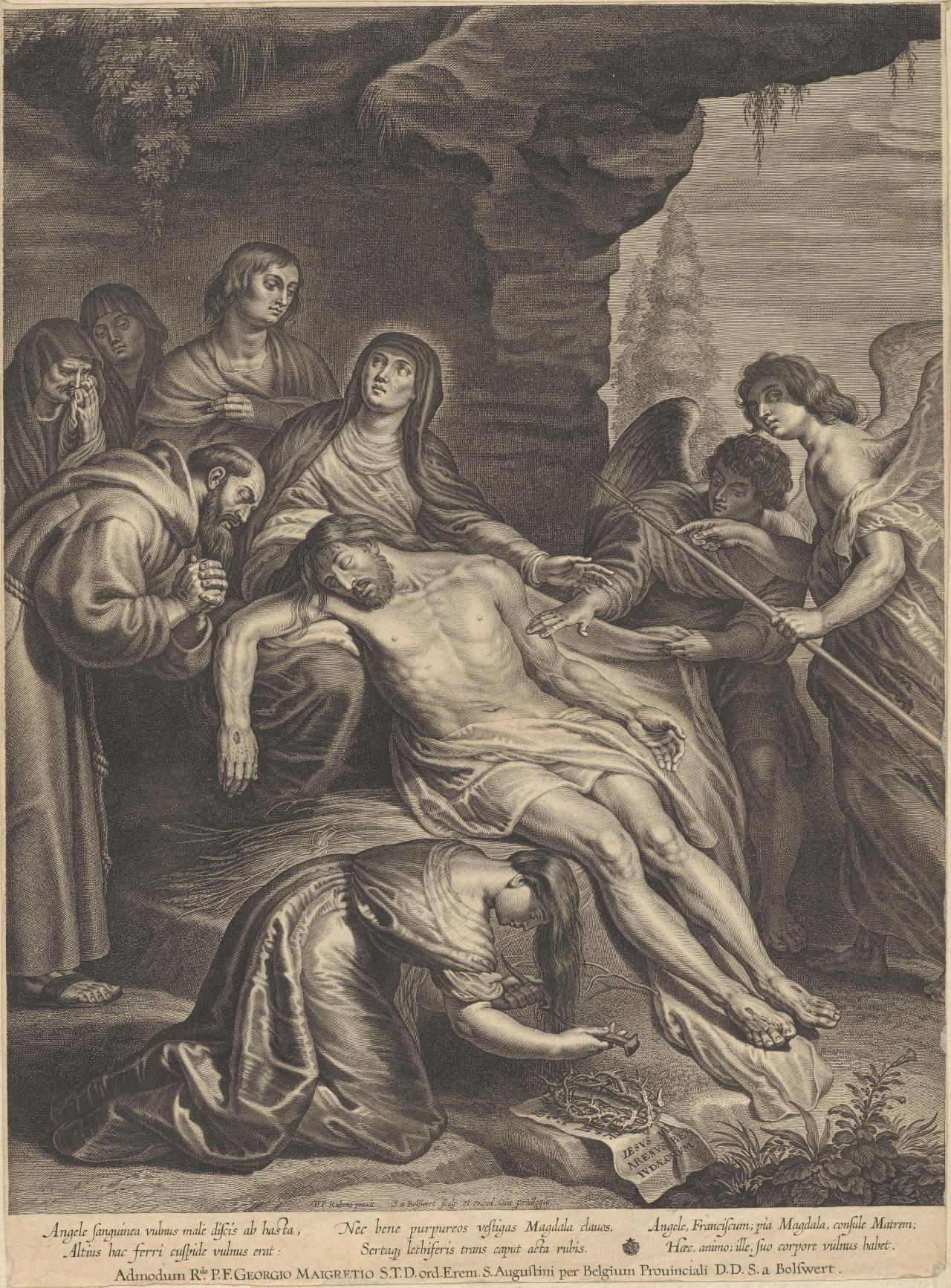 The Body of Christ in the Lap of The Virgin