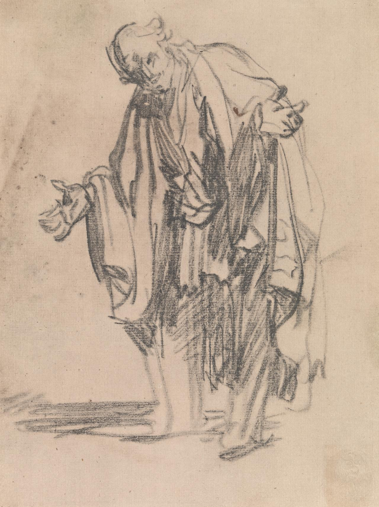 An Apostle(from the crayon drawing in the Print Room, Dresden)