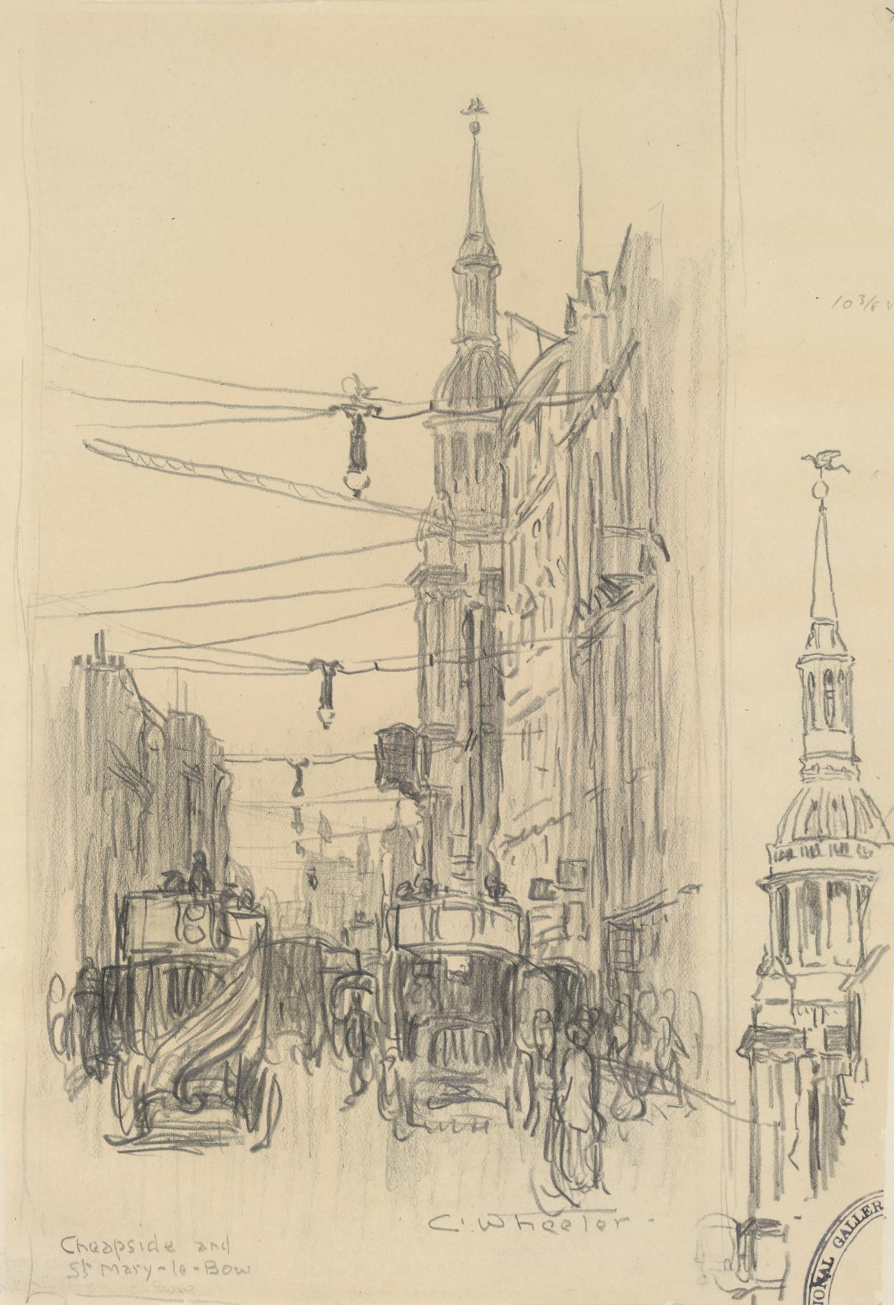 Cheapside and St Mary-le-Bow