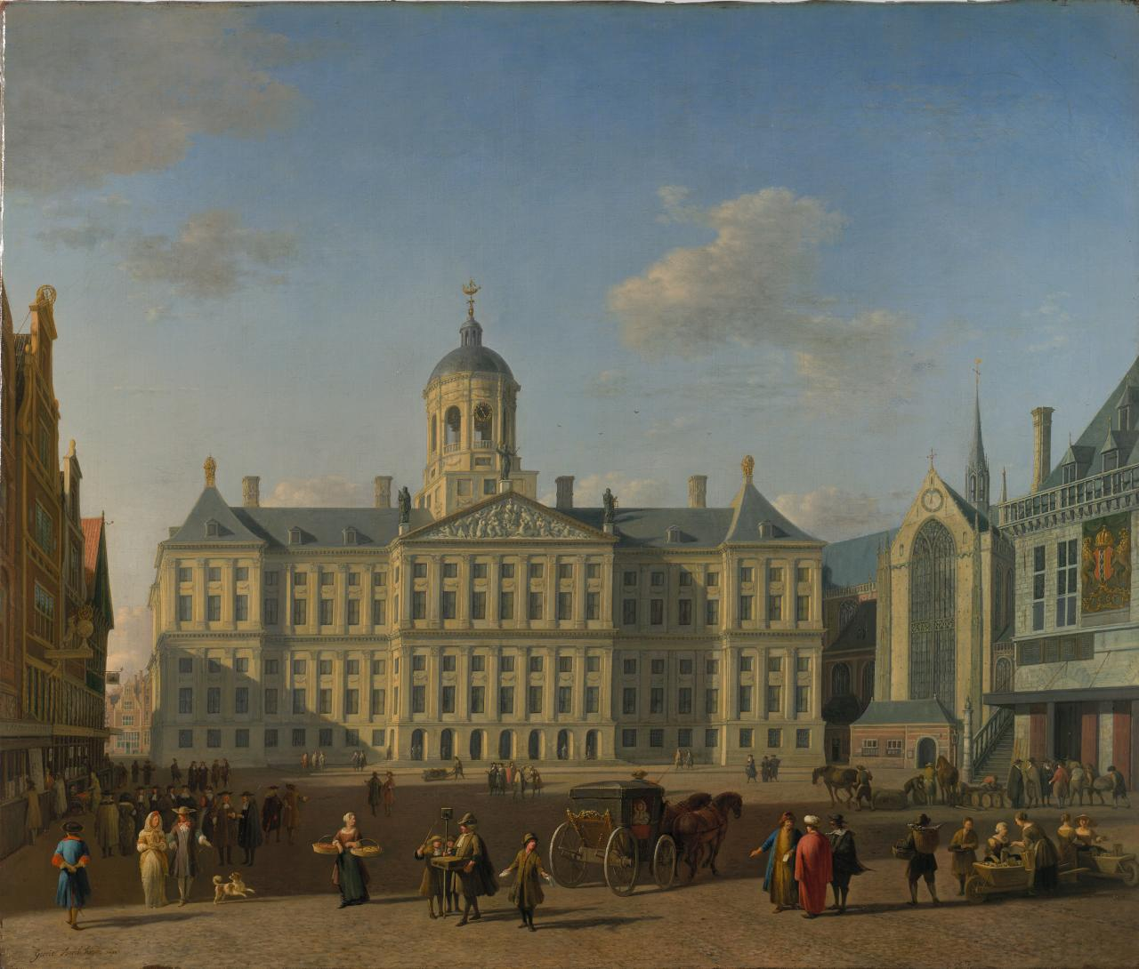 The Town Hall, Amsterdam