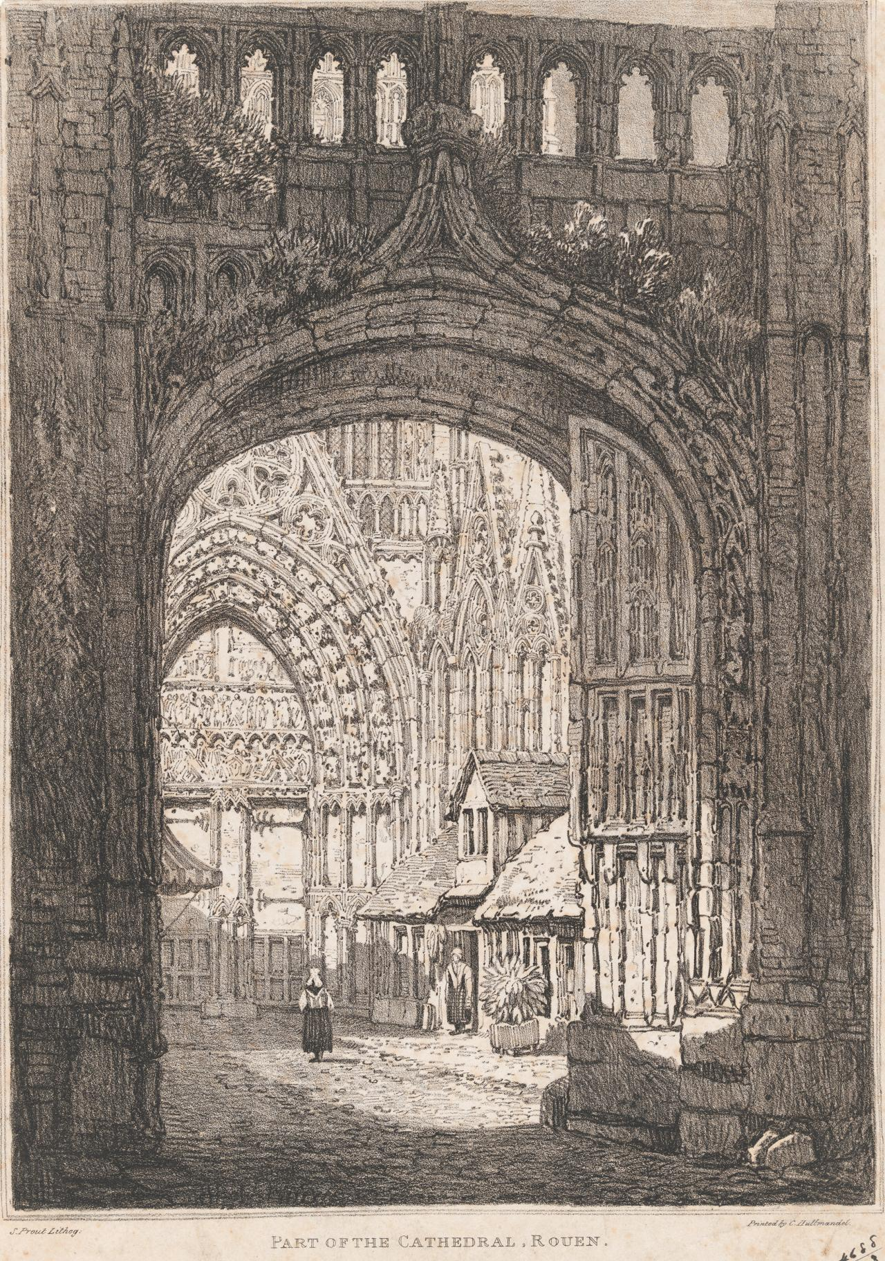 Part of the Cathedral, Rouen