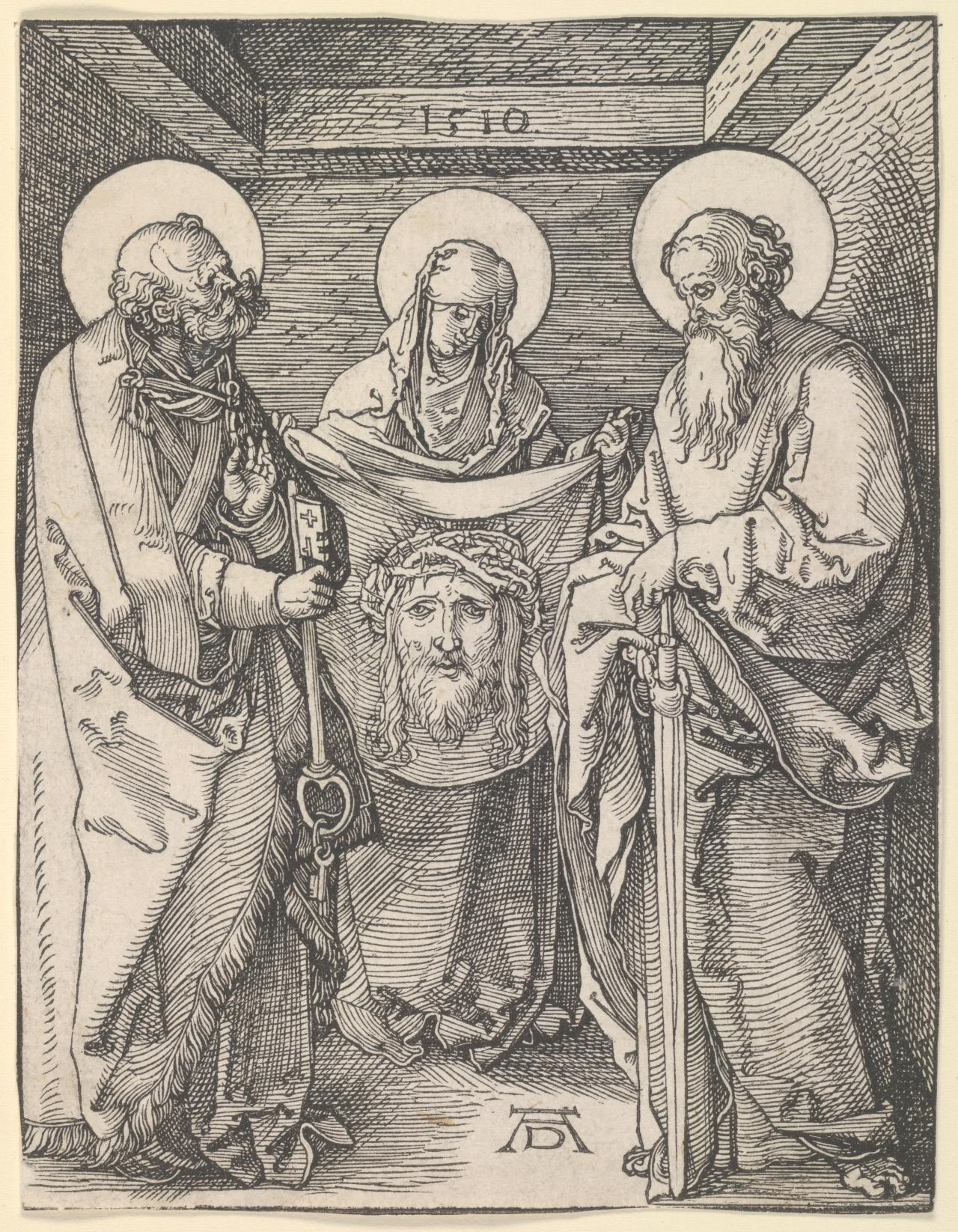 Saints Veronica, Peter and Paul