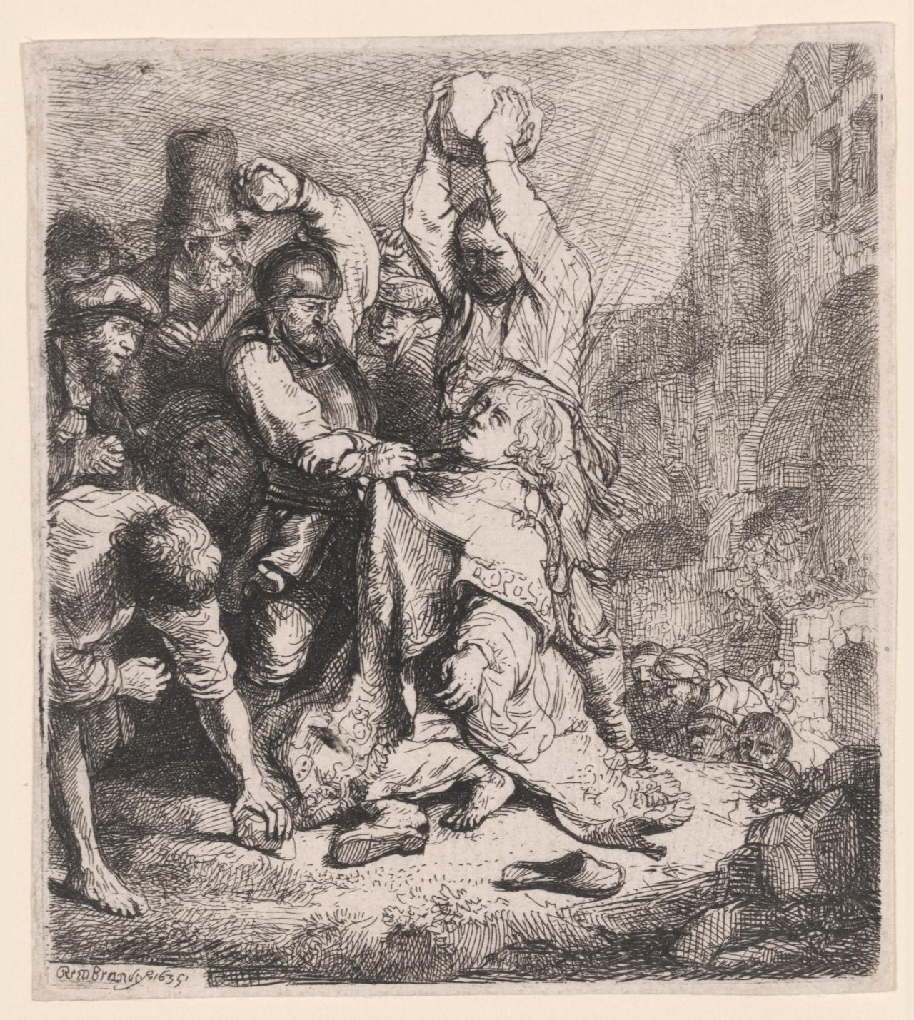 The Stoning of St Stephen