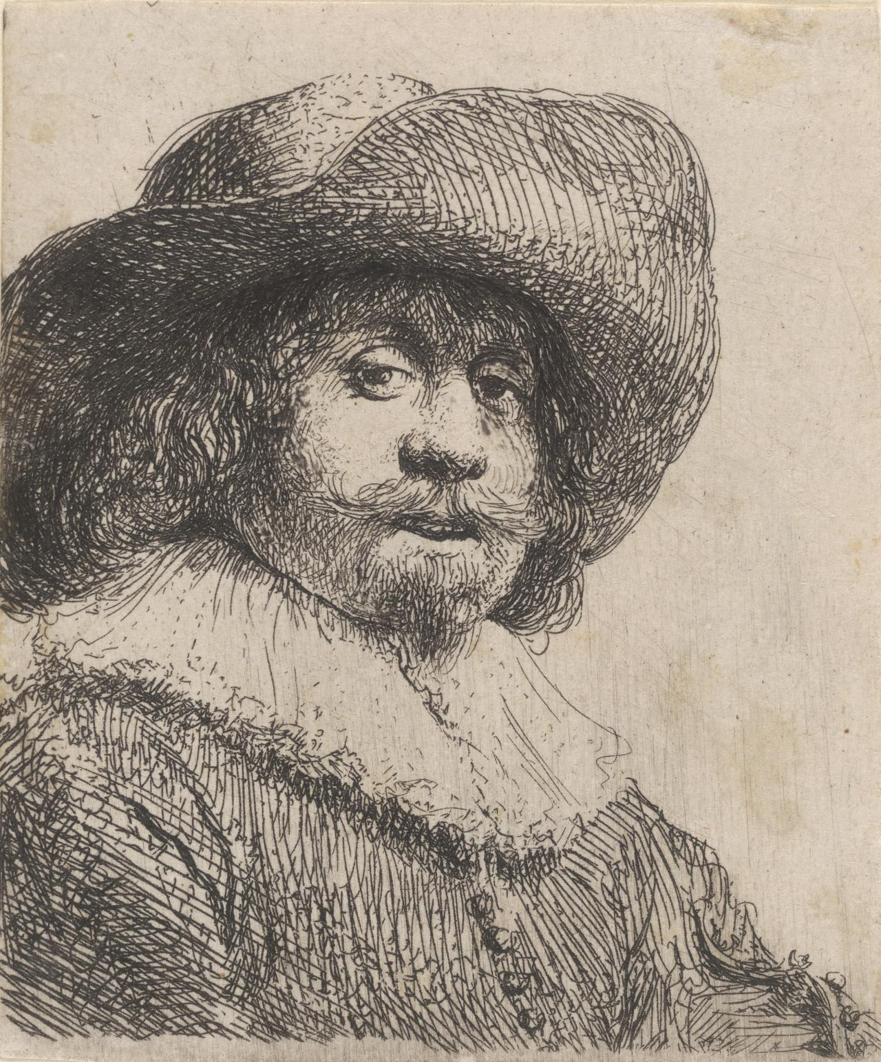 Man in a Broad-brimmed Hat and Ruff