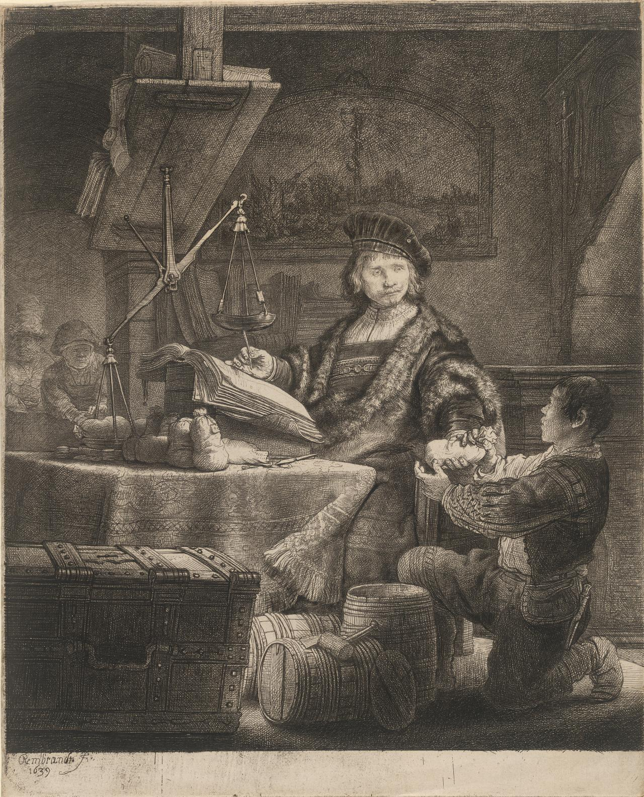 Jan Uytenbogaert,Receiver-General (The Gold-Weigher)