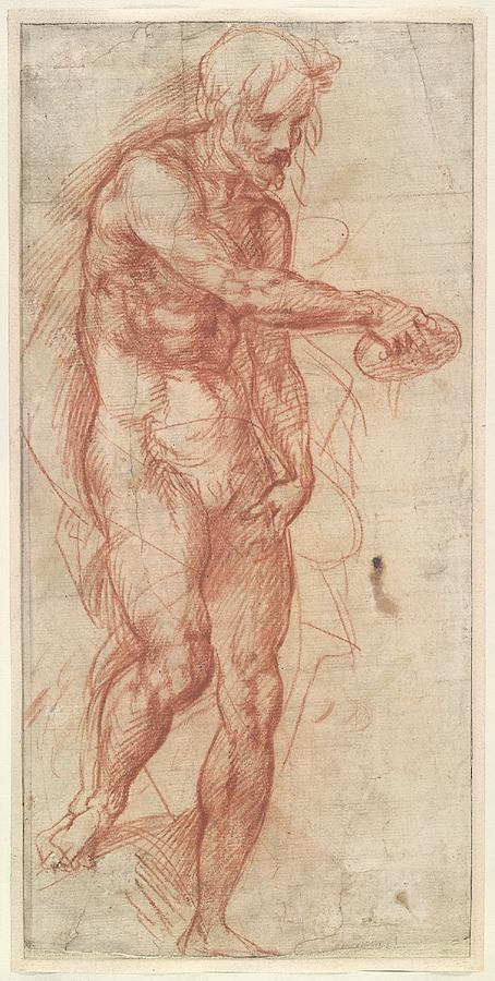 Study for St John the Baptist
