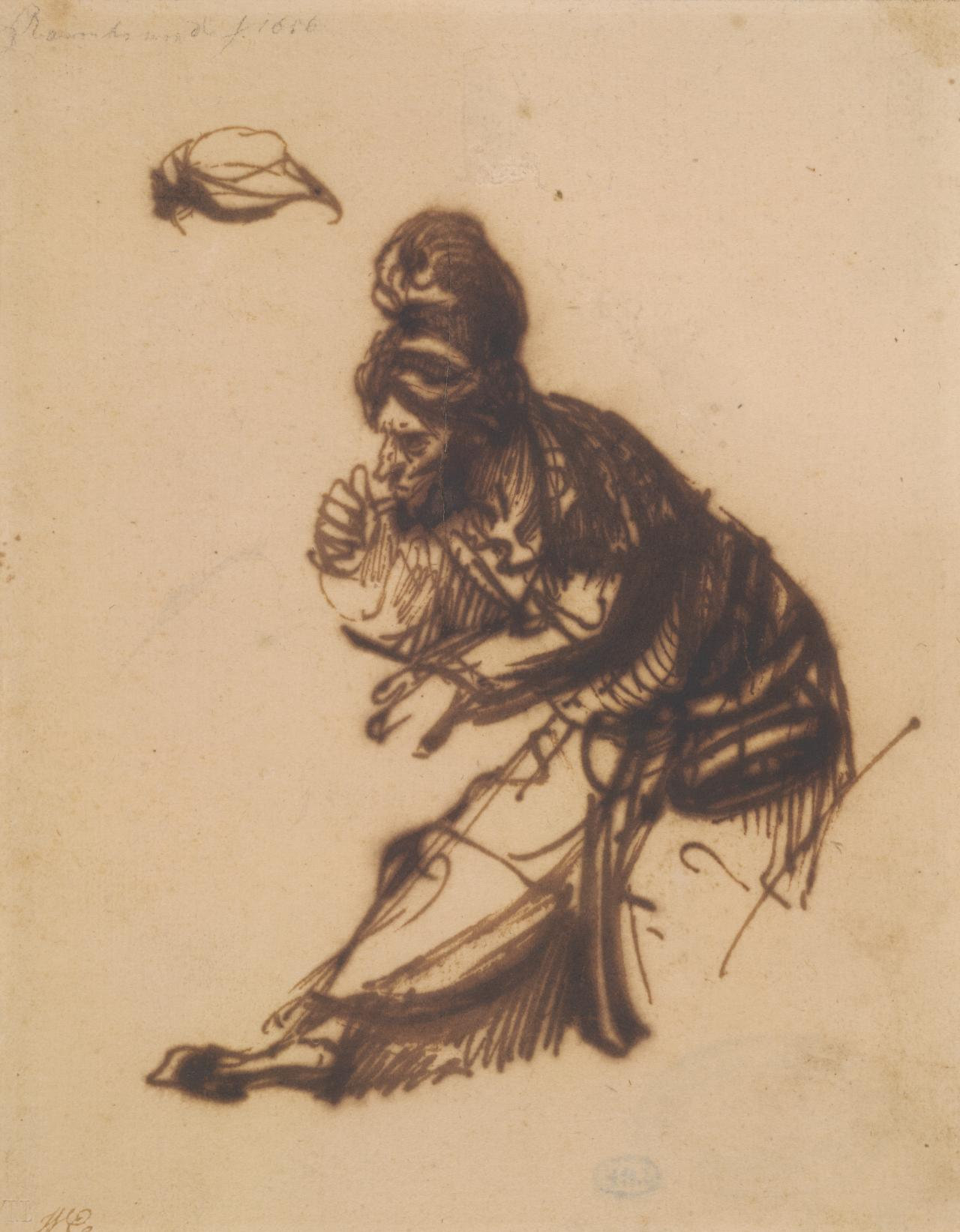 Old man in a turban (Study for an Elder)
