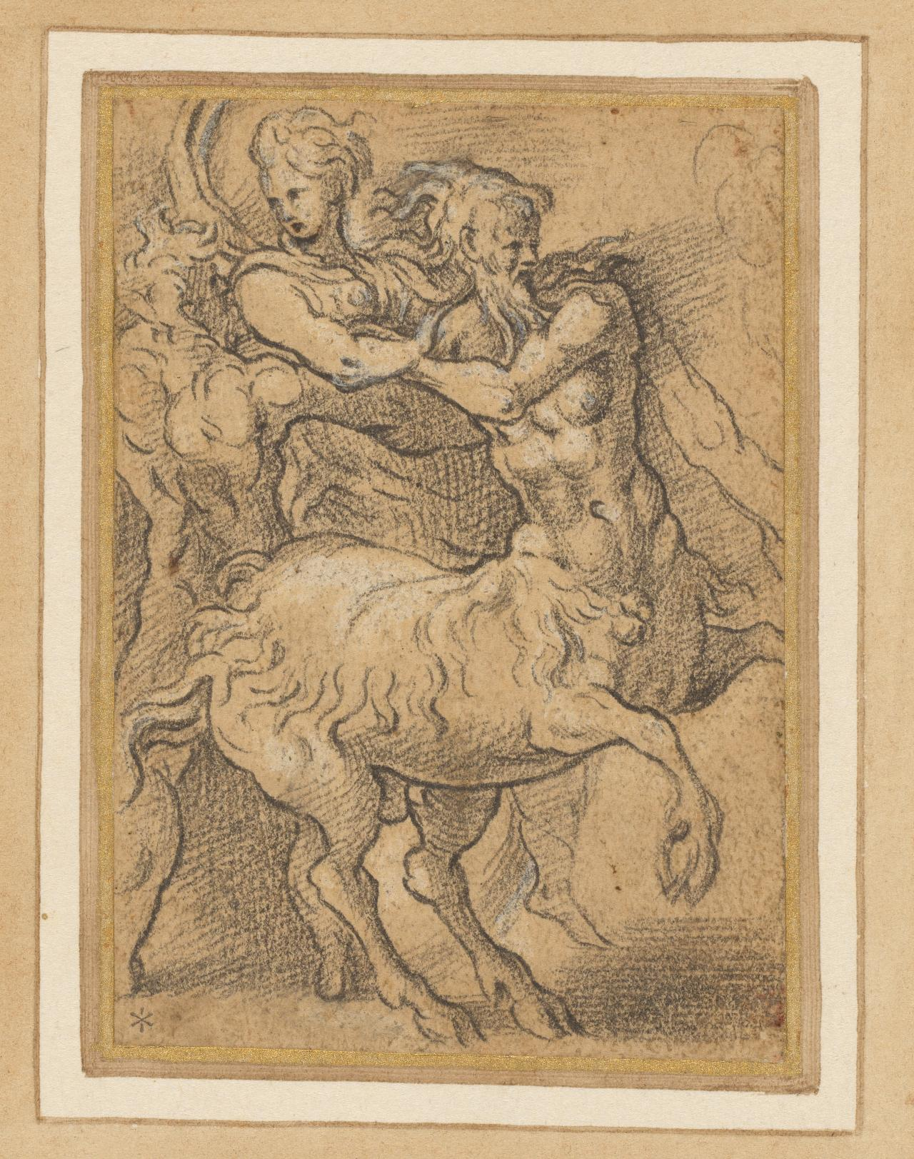 Hercules, Nessus and Dejanira