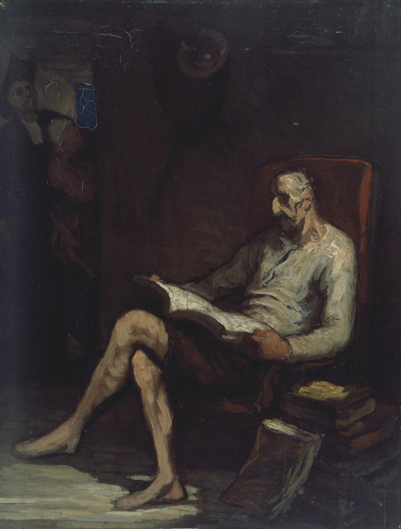 Don Quixote reading