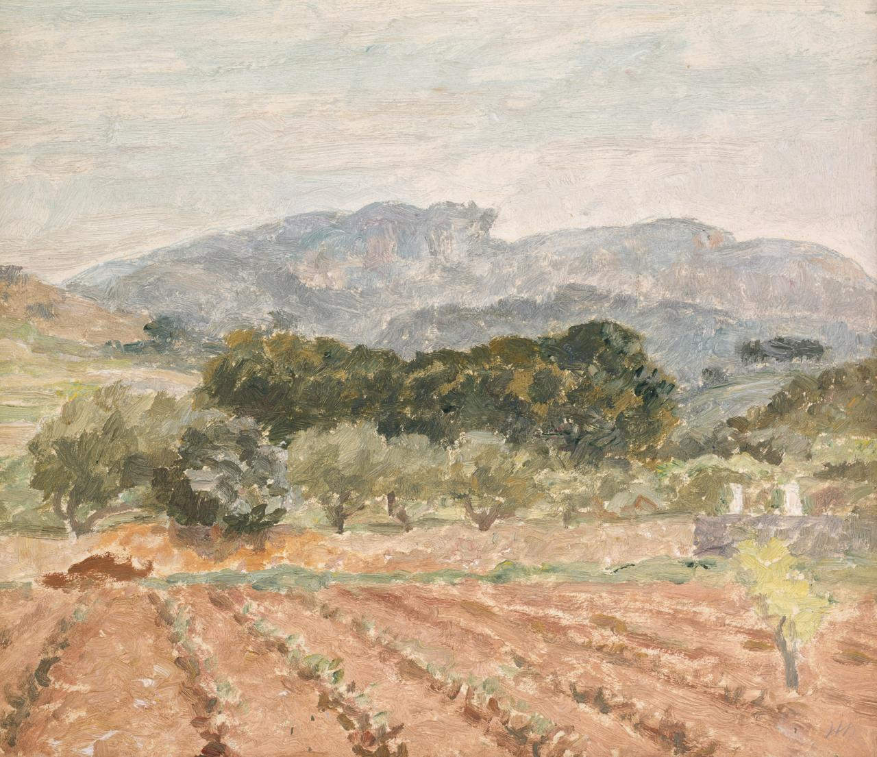 Sketch for Farm near Cassis