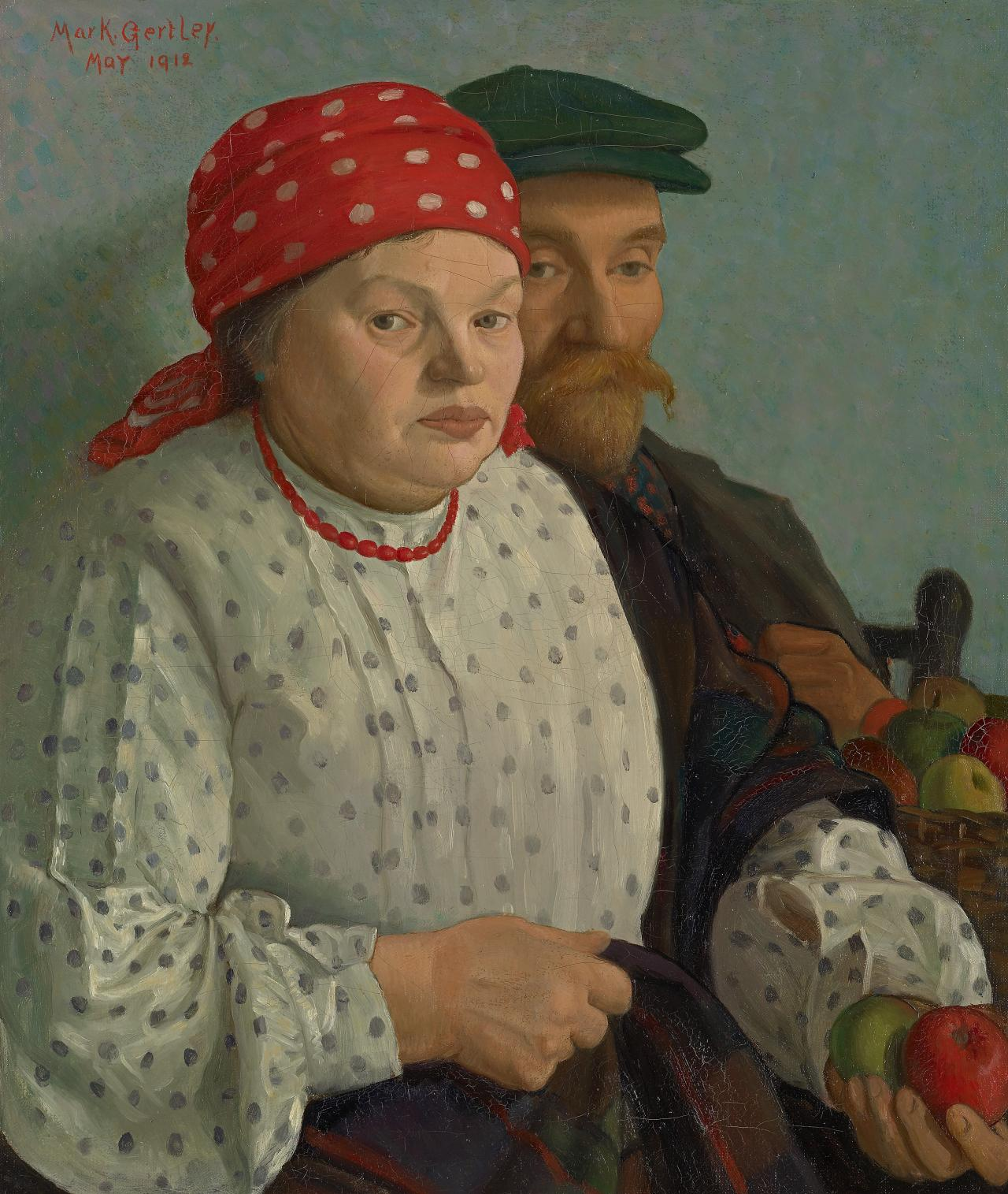 The apple woman and her husband
