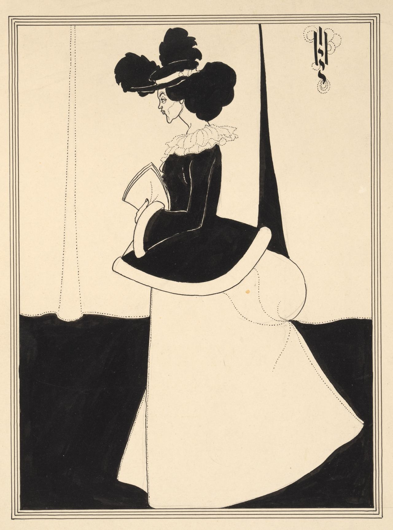 Book Illustration - Figure Of a Lady