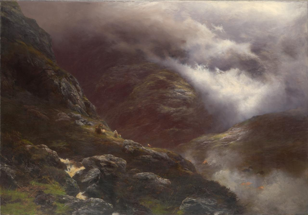 After the Massacre of Glencoe