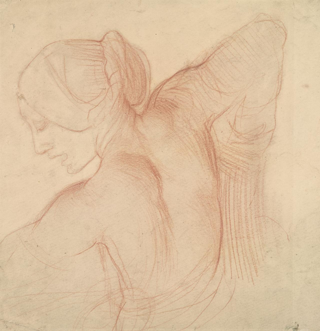 Drawing Of a Nude Figure