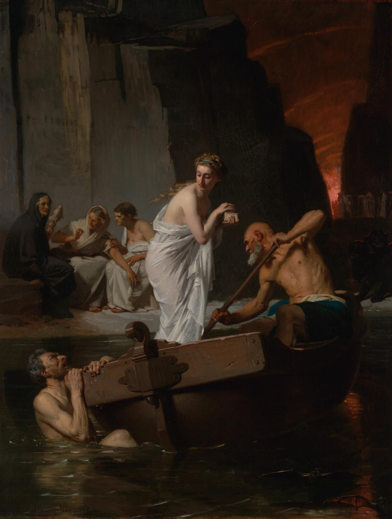 Psyche in the Underworld