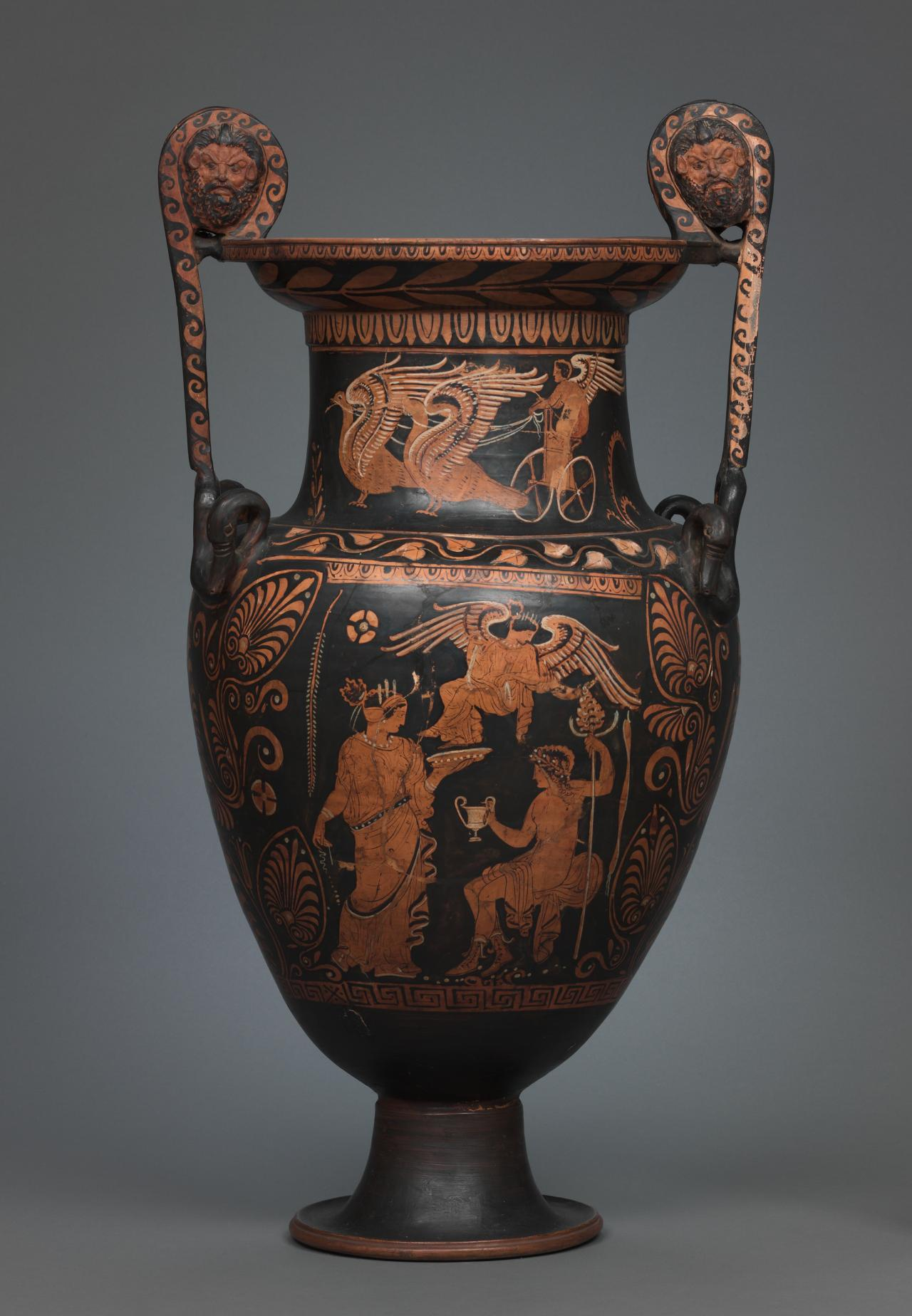 Volute-krater (Lucanian red-figure ware)