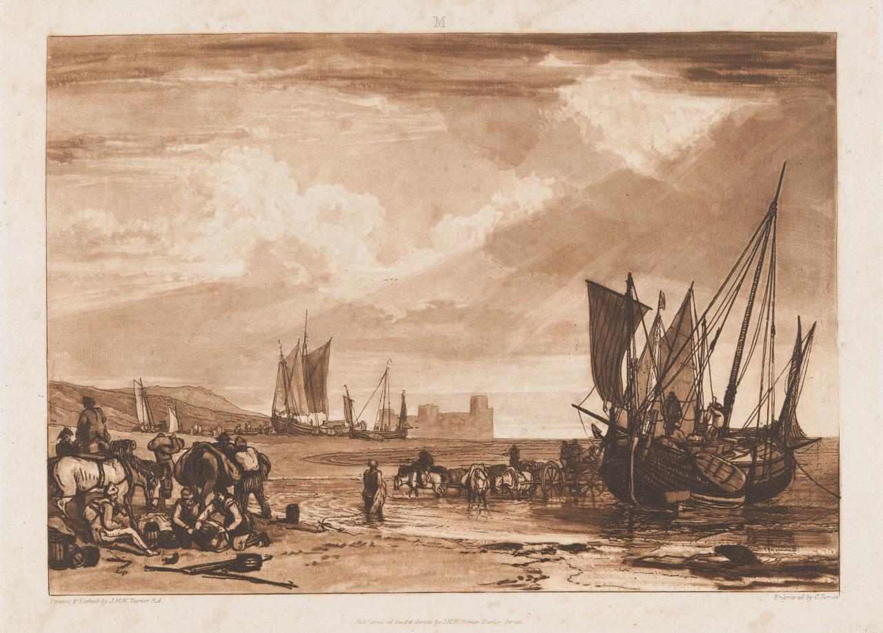 Scene On the French Coast from Liber Studiorum, part I, 11 June 1807