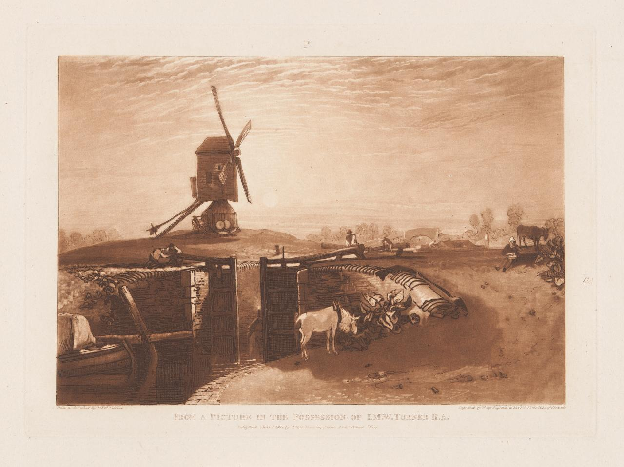 Windmill and Lock (Liber Studiorum)