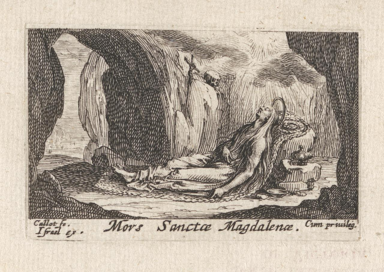 The Death of Saint Magdalen