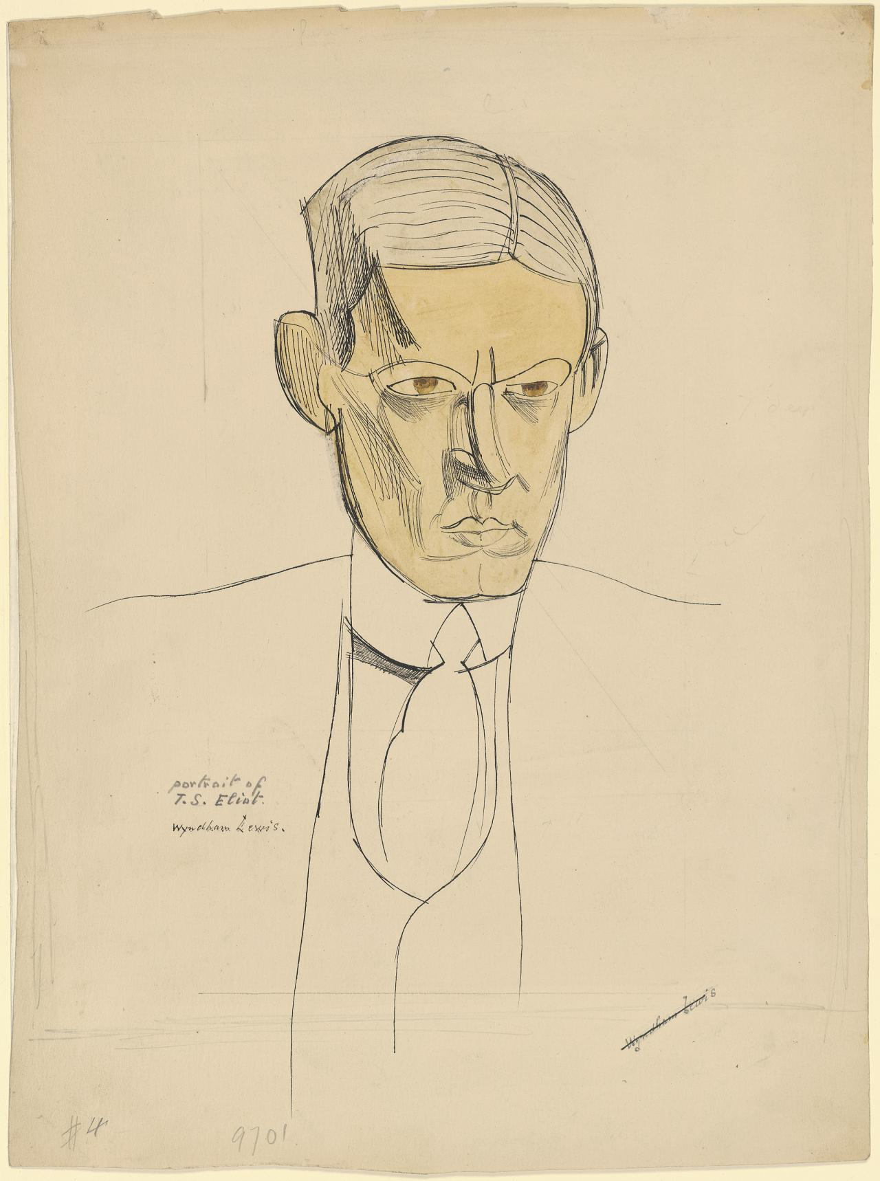 Portrait of T. S. Eliot