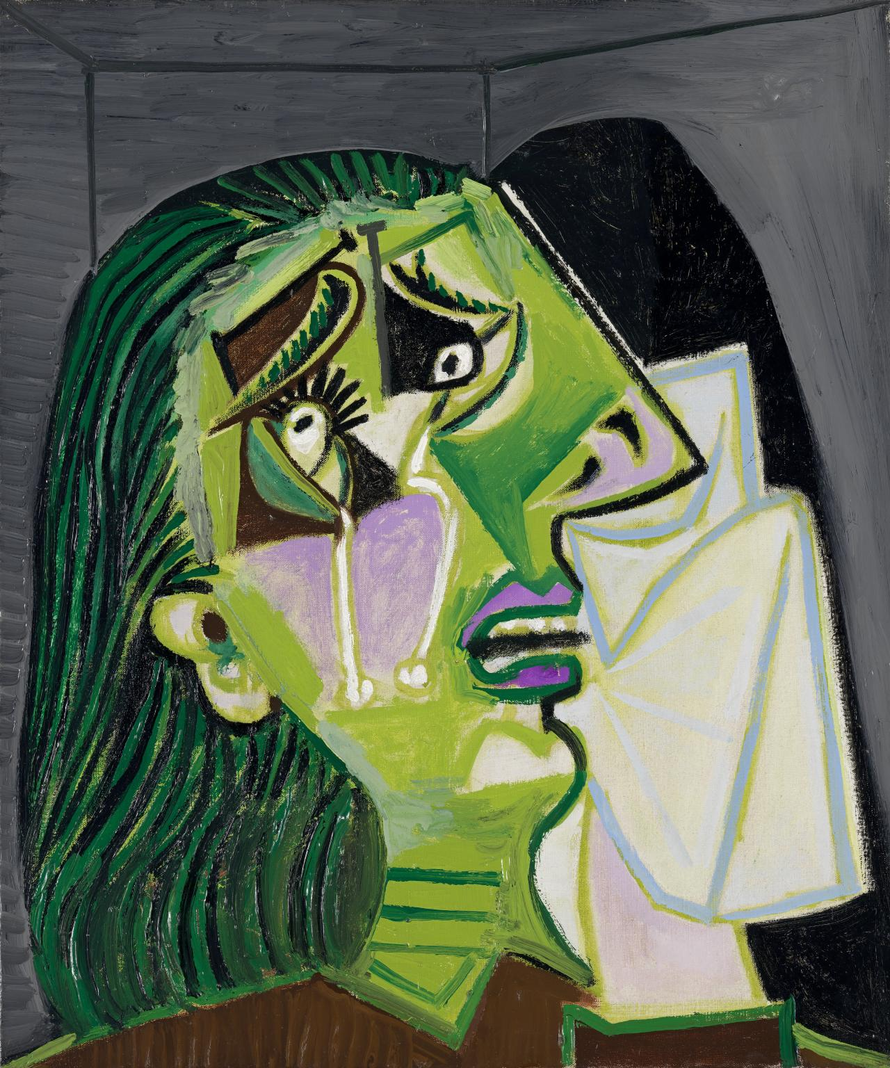 Weeping woman | Pablo PICASSO | NGV | View Work