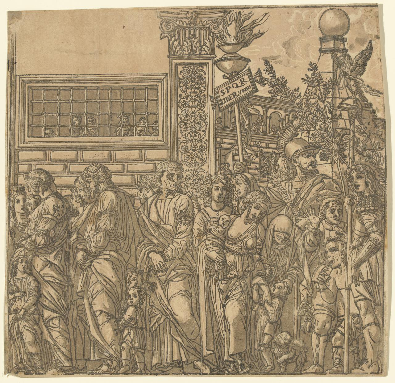 The Triumph of Julius Caesar (Plate VII)