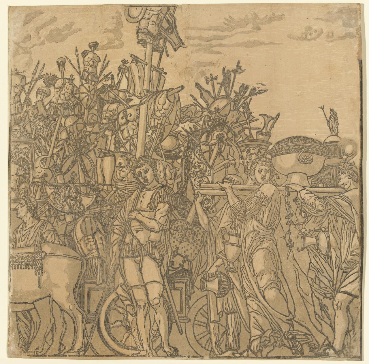 The Triumph of Julius Caesar (Plate III)