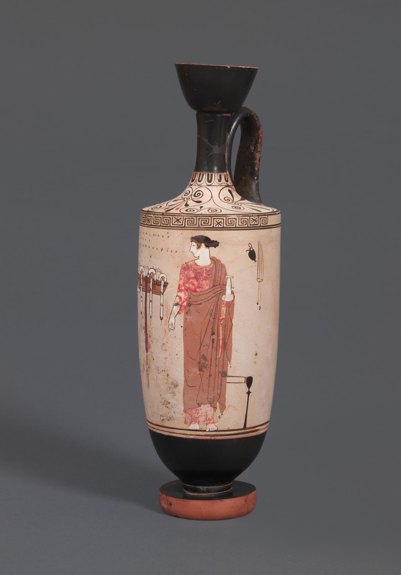 Lekythos (Attic white-ground ware)