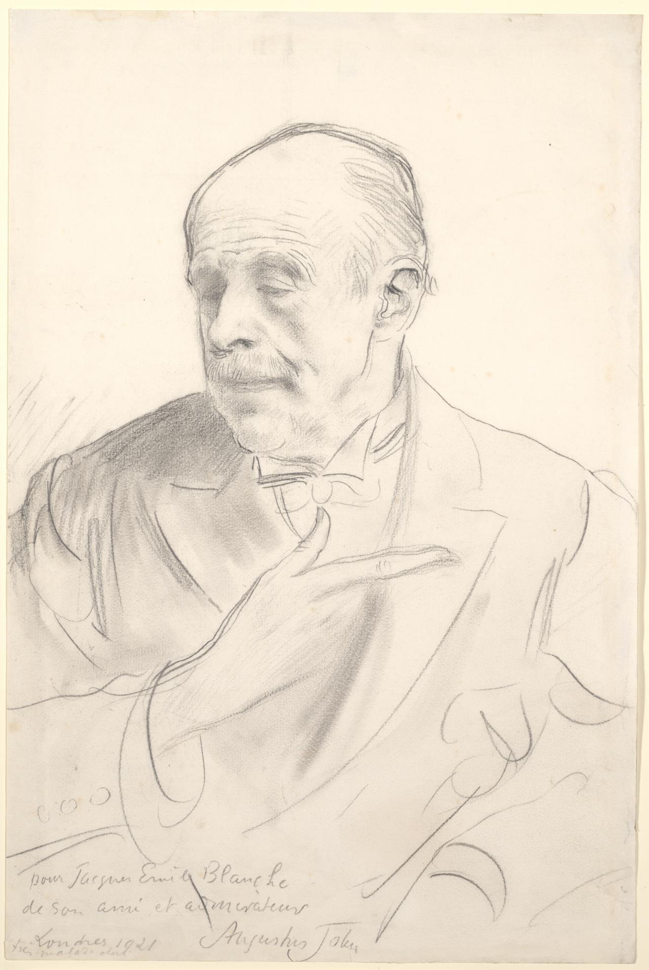 Portrait of Jacques Emile Blanche