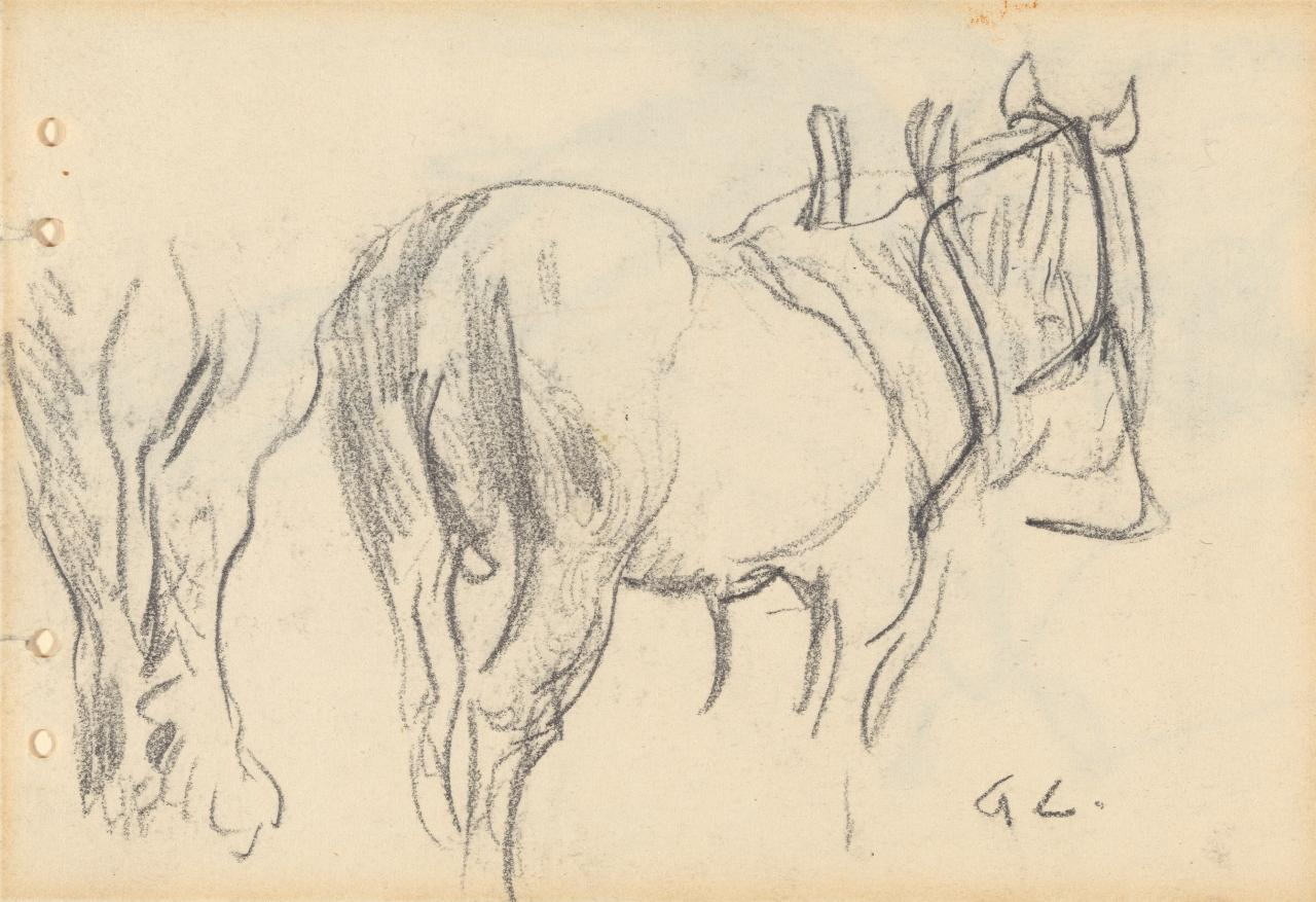 Study of a horse; for the Ploughman's Breakfast