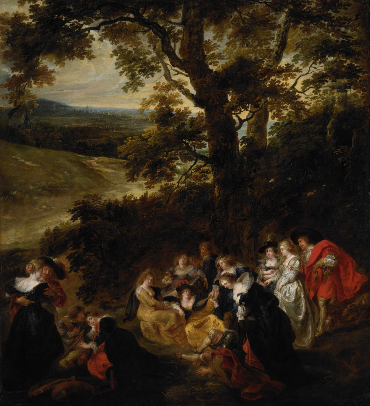 The Garden of Love   FLANDERS; Peter Paul RUBENS (after)   NGV ...