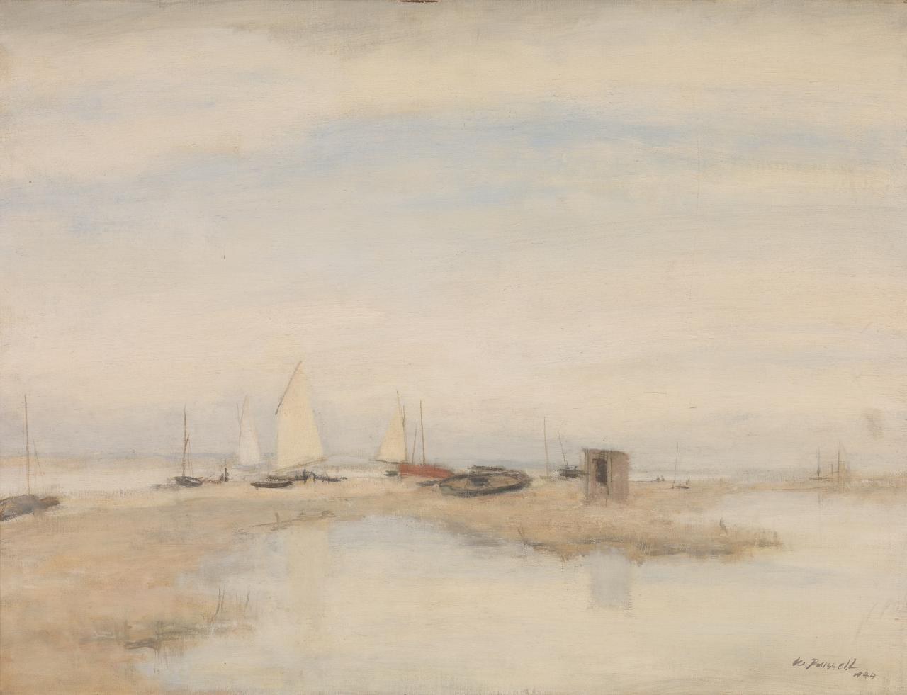 High tide, Blakeney