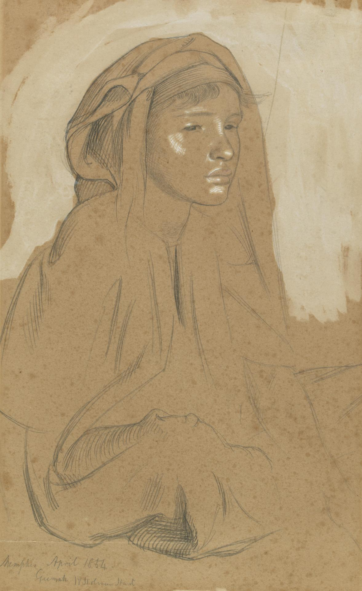Study of a Fellah girl