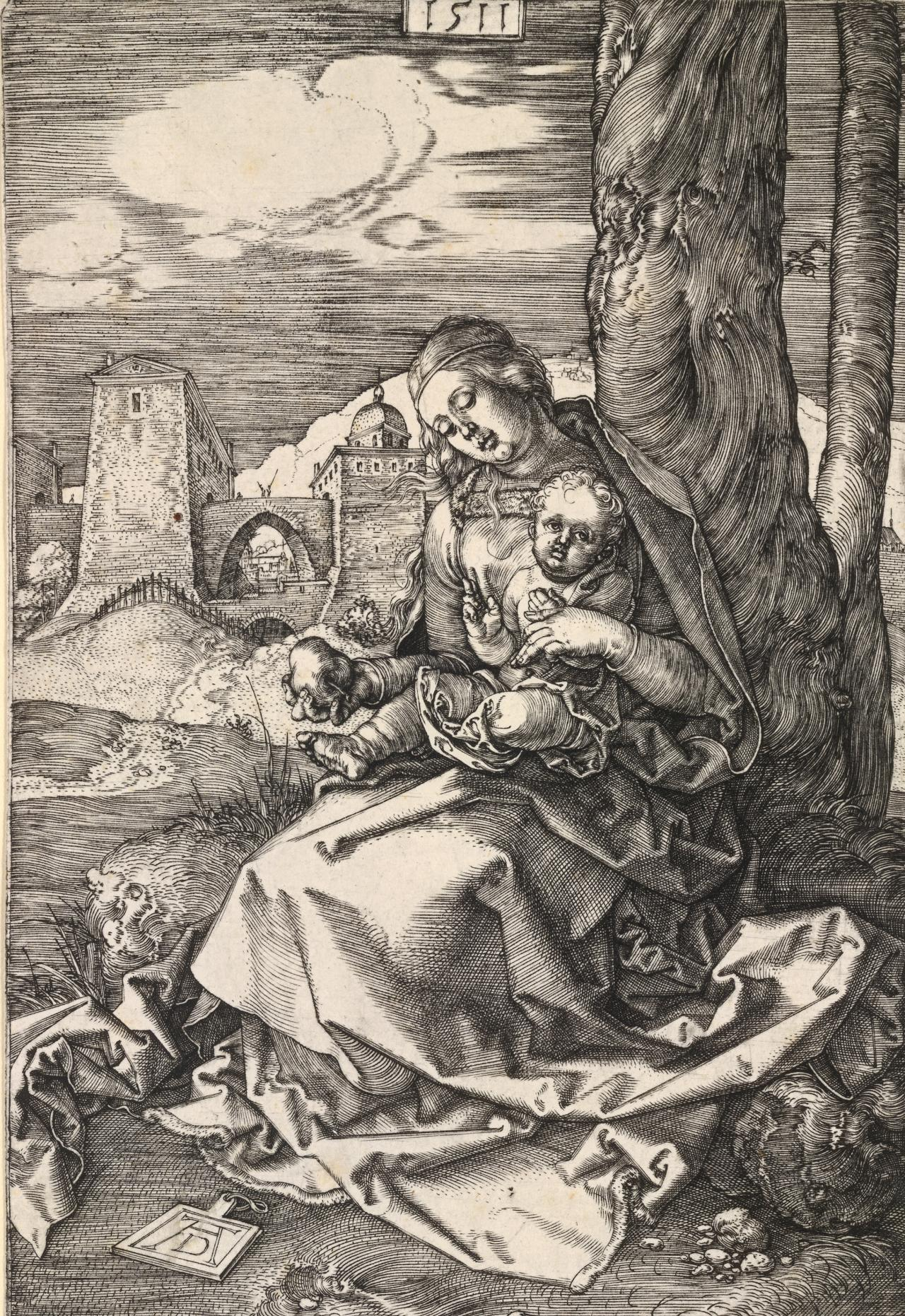 Madonna with the Pear