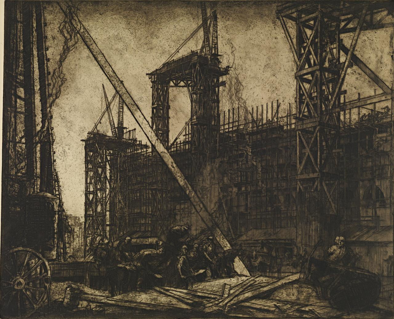 Building the Victoria and Albert Museum