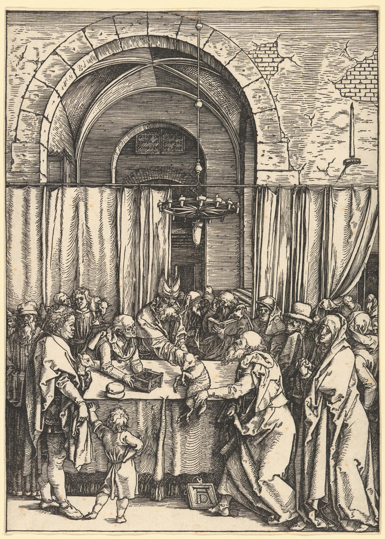 The Rejection of Joachim's Offering