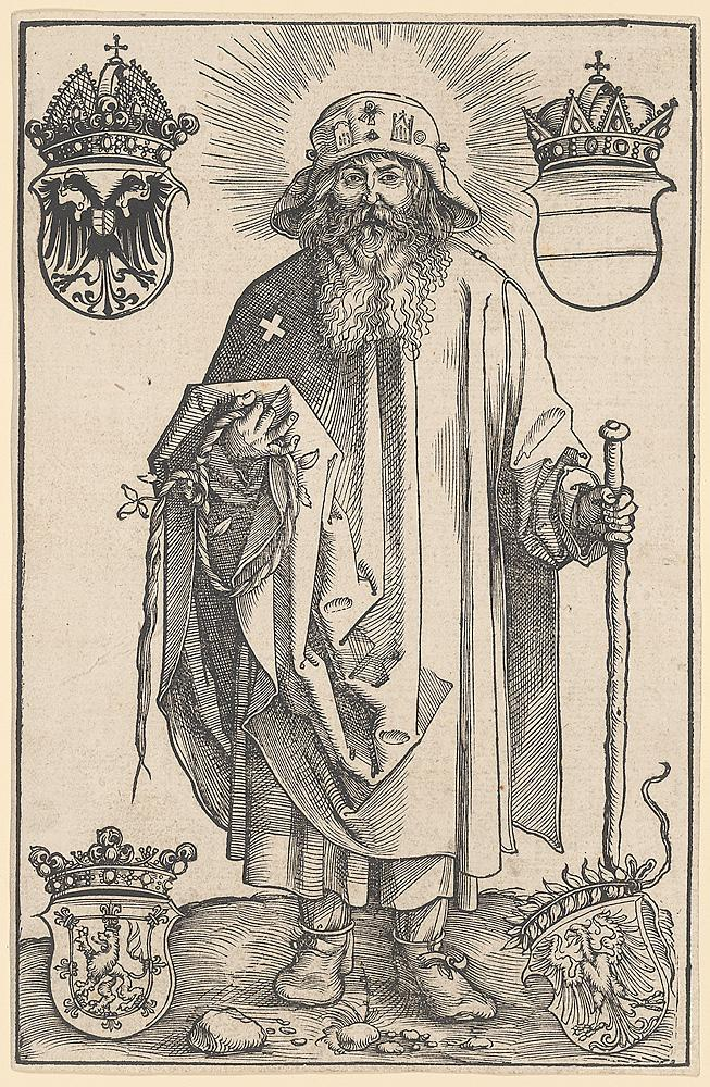 Johann Stabius as Saint Coloman