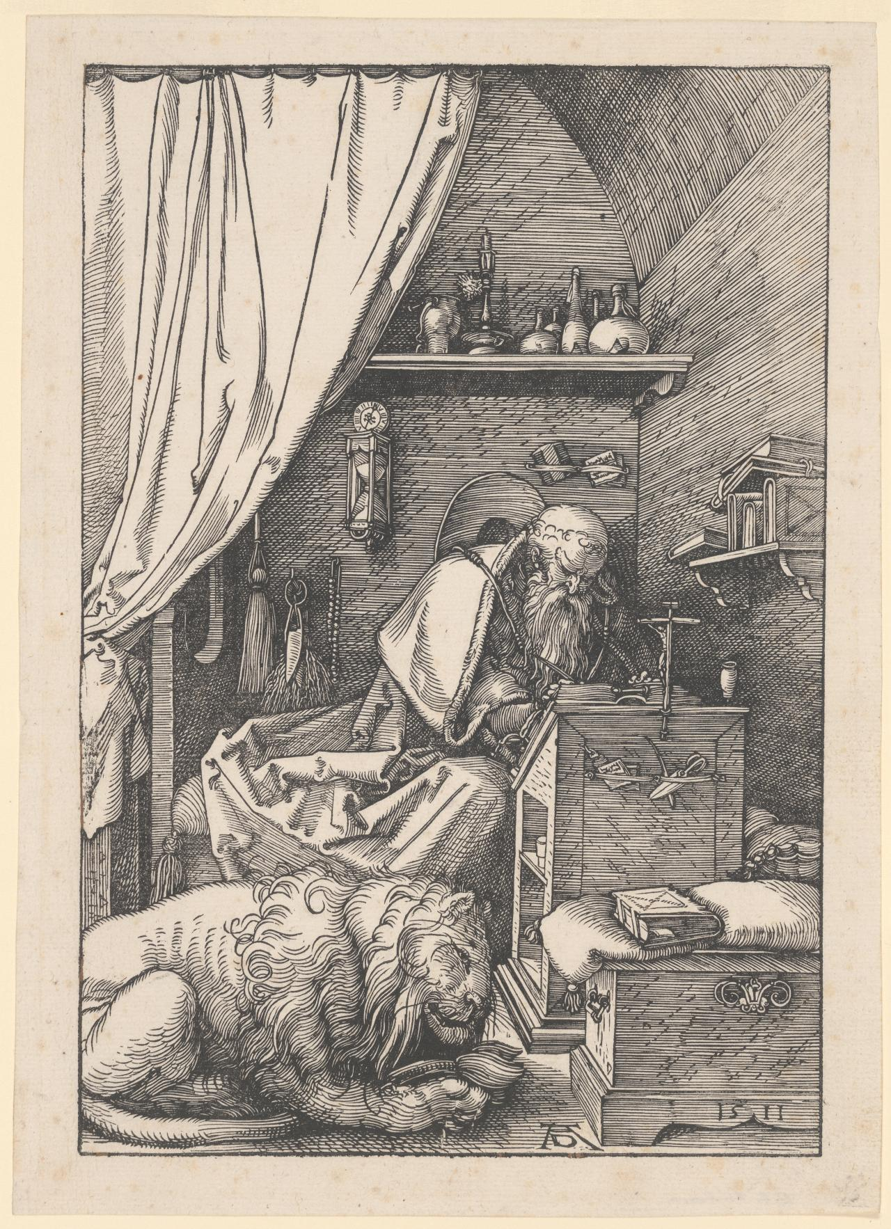 Saint Jerome in his Cell