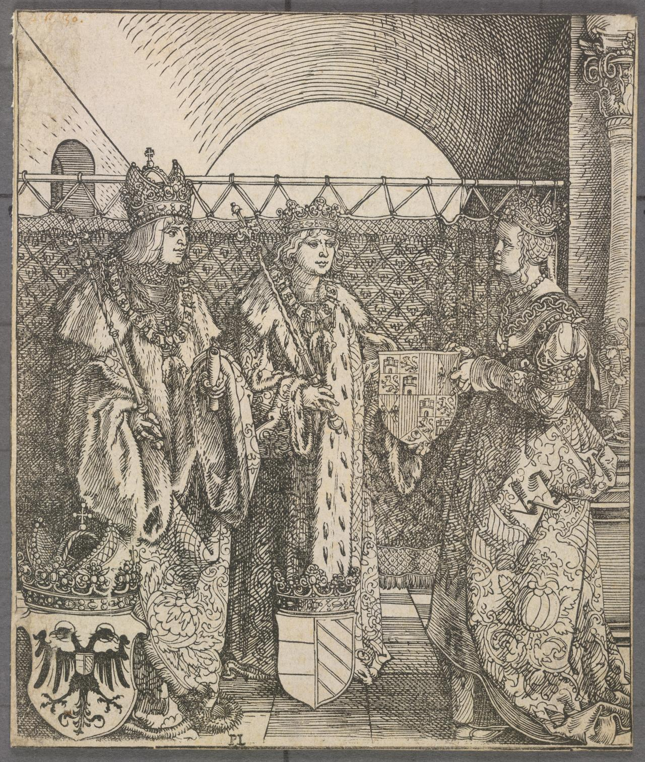 The Engagement of Philip the Handsome with Joanna of Castile