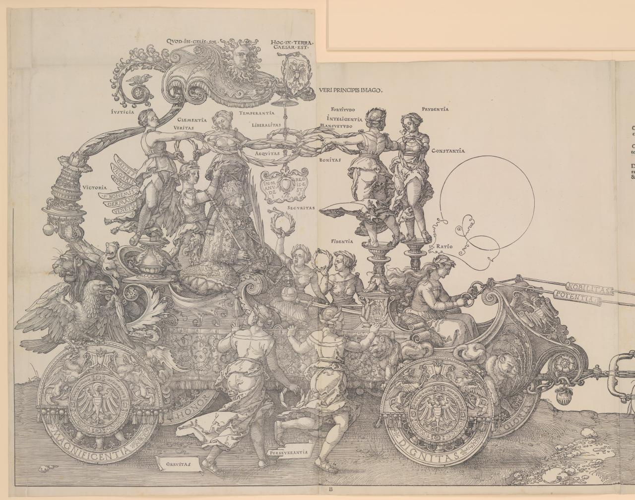 The Great Triumphal Chariot of Emperor Maximilian I
