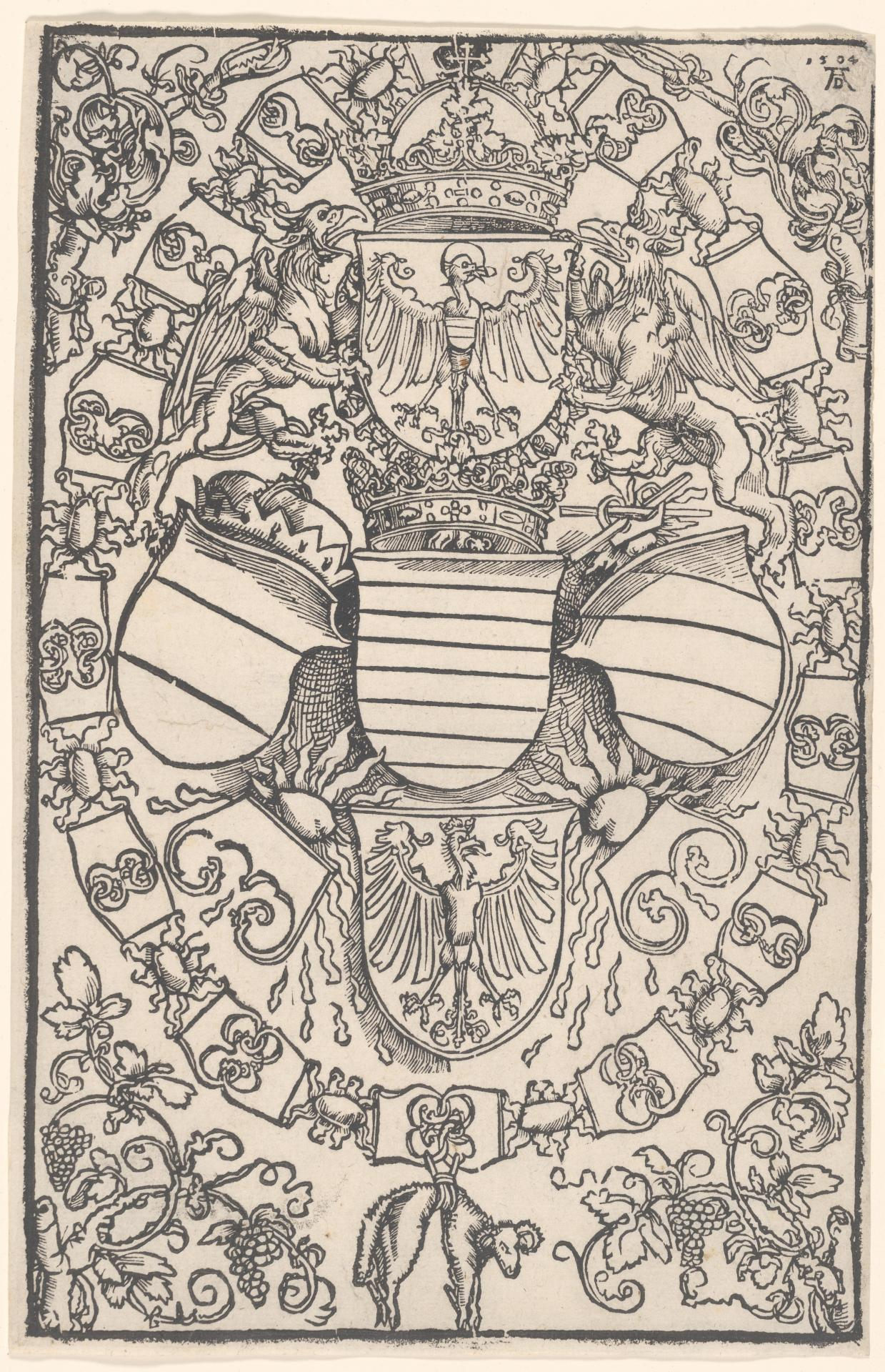 Coat of Arms of Maximilian I as King of the Romans