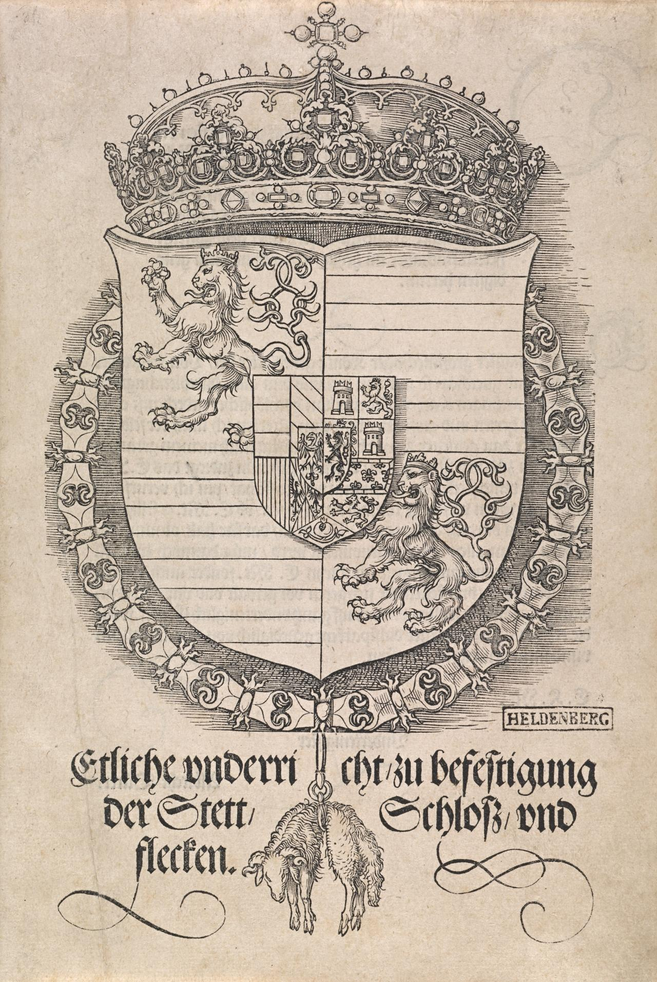 Coat of Arms of Ferdinand I