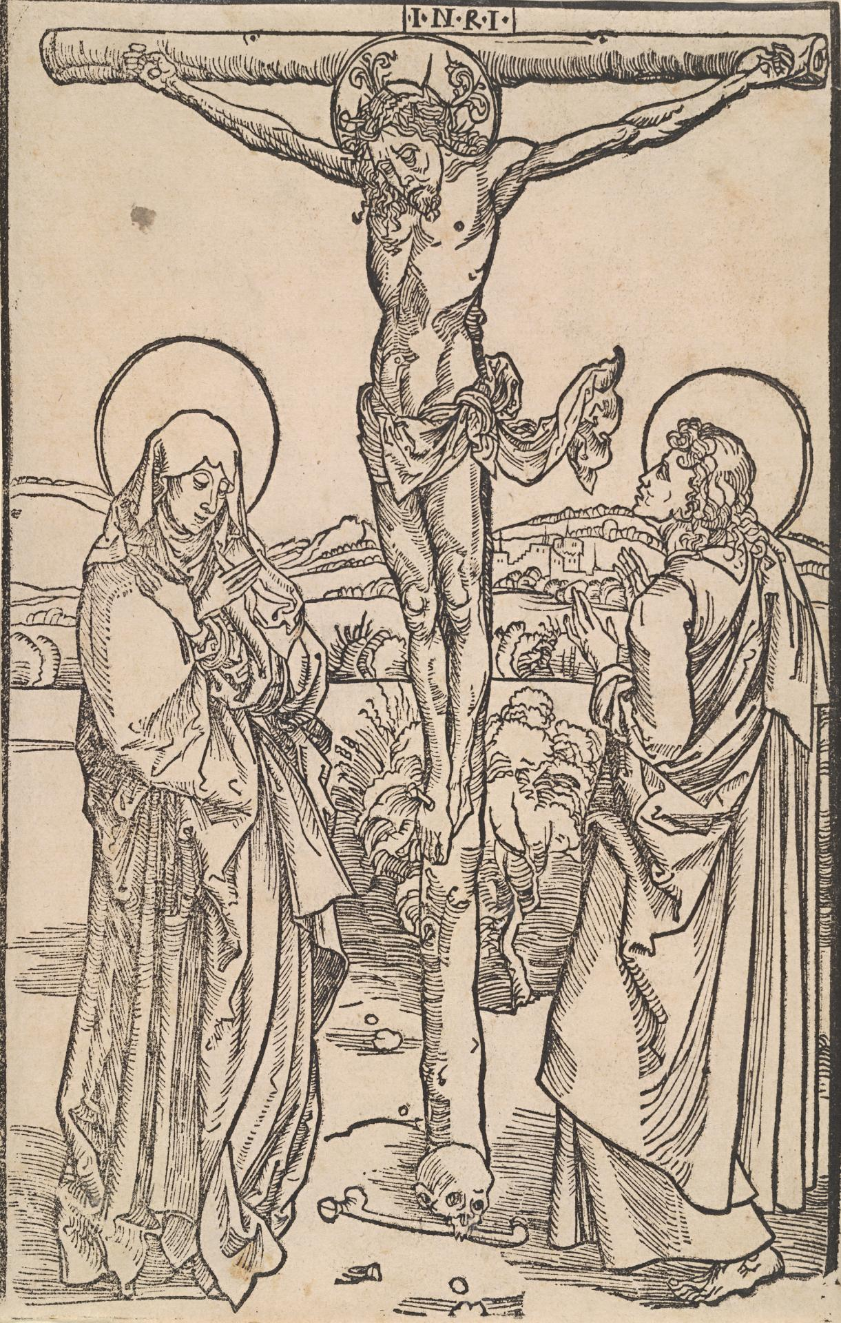The Crucifixion with the Virgin and St John
