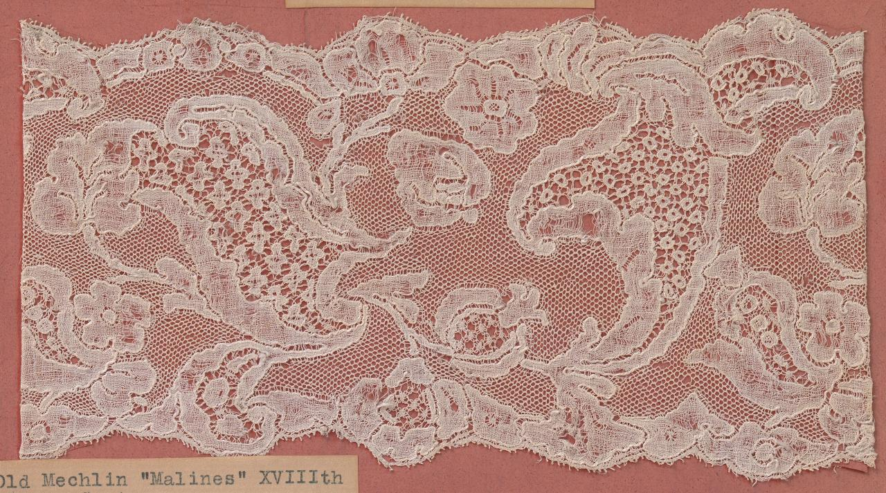 Mechlin 'Malines' Lace